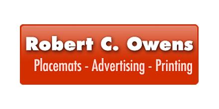 Robert C. Owens Advertising & Printing logo